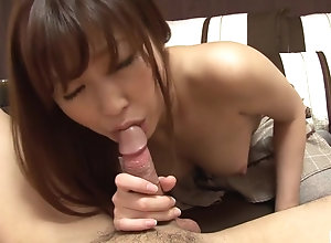 Uncensored JAV Mitsu Satou blowjob and facesitting Subtitled