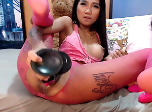 Insane asian whore