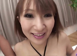 Anna Mizukawa delights hither duo big chinese poles on cam