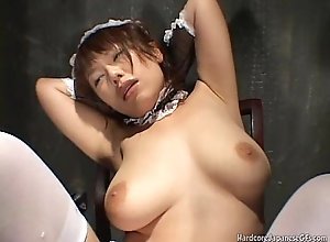 Japanese Cutie Gets Teased plus Pleased