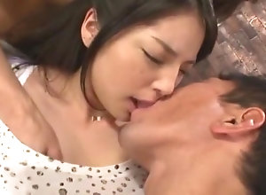 Horny Japanese piece of baggage Eririka Katagiri with regard to Best POV, Cunnilingus JAV clip