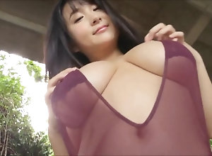 Japanese huge-titted Idol - Rui Kiriyama 02