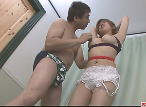 Rika Kurogawa fated up while sex fucktoys action