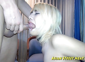 Bugger Anal ash-blonde Asian