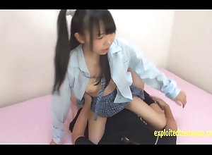 Amateur Jav school doll Miki Gets Fucked In Her Uniform