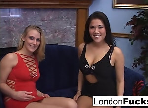 London and Natalie Norton drag inflate cock